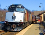 NJT 4116 Train #1025