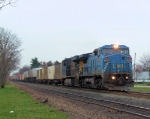 "CSX 7924 NS 077 ""Detour Train"""