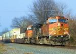 BNSF 4542 NS Train 214