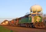 BNSF 8188 NS Train 214