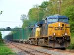 CSX 5345 Q703 Trash