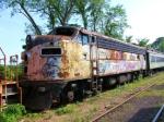 New Jersey Transit F7A #418