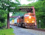 BNSF 5394 NS Train 214