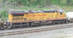 UP 9326 trails 7 other units as 34A heads east into the yard