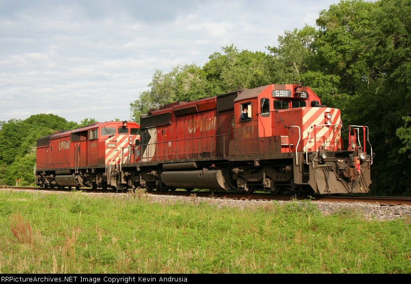K803 w/CP 5911