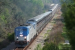 Amtrak Auto Train w/Three Motors