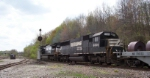 NS SD60 #6606 eastbound on the old CR main