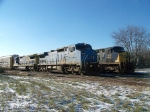 CSX 7918 on Q226 Northbound