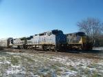 CSX 7918 on Q226 Northbound