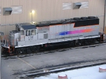 080216001 NJT 1001 at BNSF Northtown diesel shop