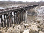 080412046 Abandoned UP ex-C&NW bridge over Minnesota River