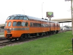 "080513018 NSRX 186 Skytop ""Cedar Rapids"" 800040 parked just after finishing ""Photo charter"" with 261 steamer"