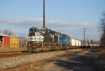 NS 537 Empty PPL Coal Hoppers