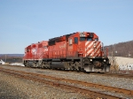 CP 512 nearing the end its work day