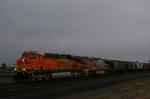 Empty Grain Shuttle