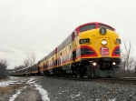 Northbound KCS Special Business Train - The Southern Belle