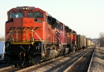 Southbound BNSF Coal Train DPU's