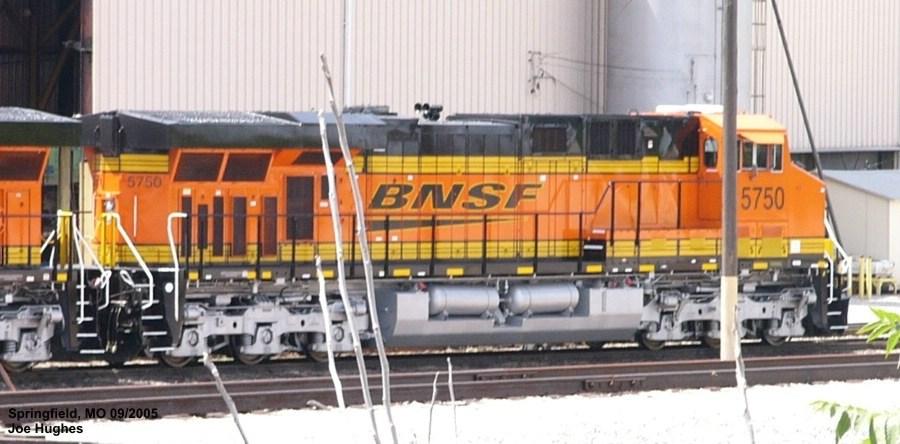 BNSF 5750
