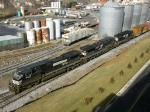NS 9137, 8354 & 5580 enjoy a warm winter's day in the sun this Super Bowl weekend