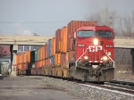 CP 8538 Heads east with X500