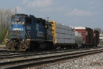 Z739 enters the yard with a transfer for CSX