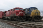 CP 8615 on X500-02 and CSX 7815 on Q326-04 pose side by side