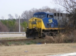 CSX 446 waiting for loaded coal train