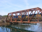CSX 583 Crosses over the Augusta Canal
