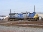CSX 7866 sits in the Yard