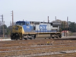 CSX 7743 sits in the Yard