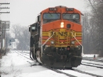 BNSF 5729 & 9750 return to the yard as D801