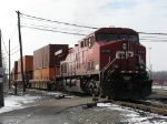 CP 8538 leads X500-11 off of the Service Track