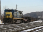 CSX 7545 leads K502-12 up the Coach Lead