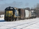 2697 returns to the yard with Y320