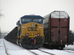 After returning from West Olive as D802, CSX 772 waits to depart with what will become an empty N924