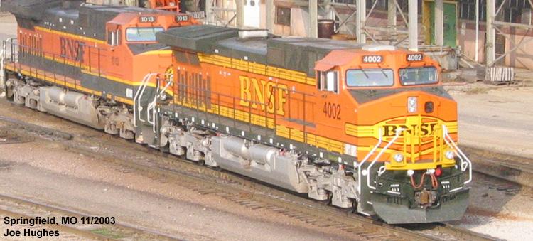 BNSF 4002