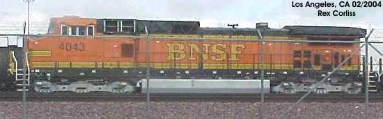 BNSF 4043