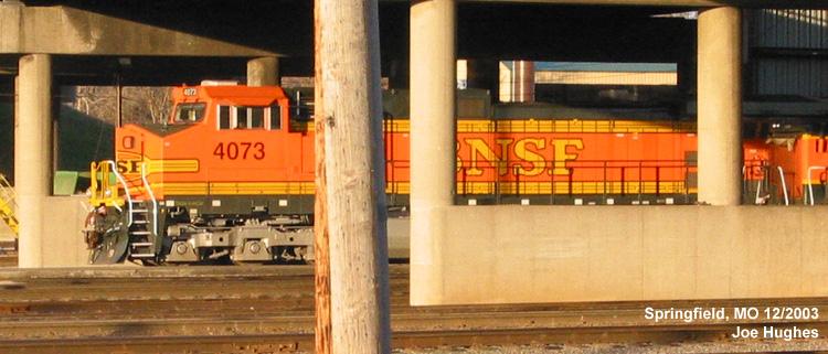 BNSF 4073