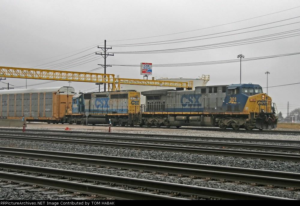 CSX 301 on Q268-05