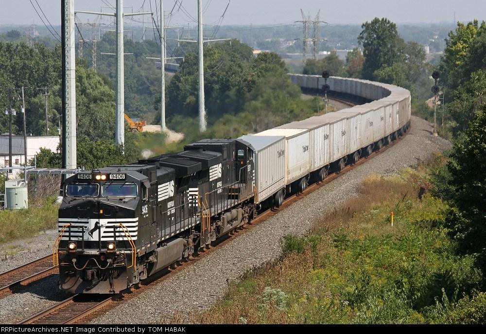 NS 9406 on NS 261