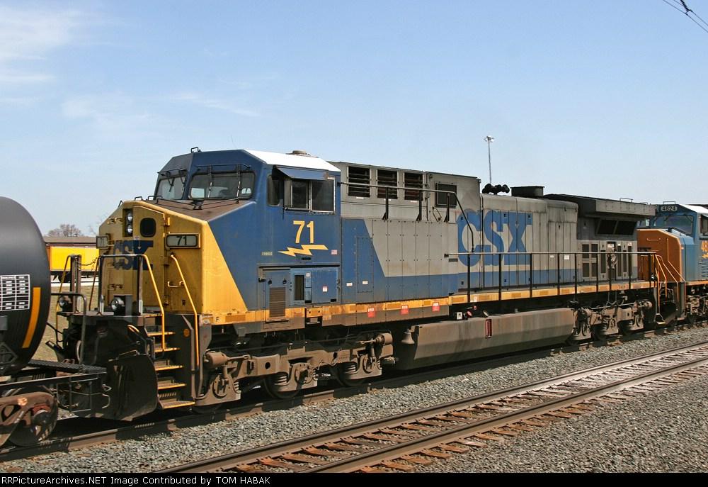 CSX 71 on Q386-06