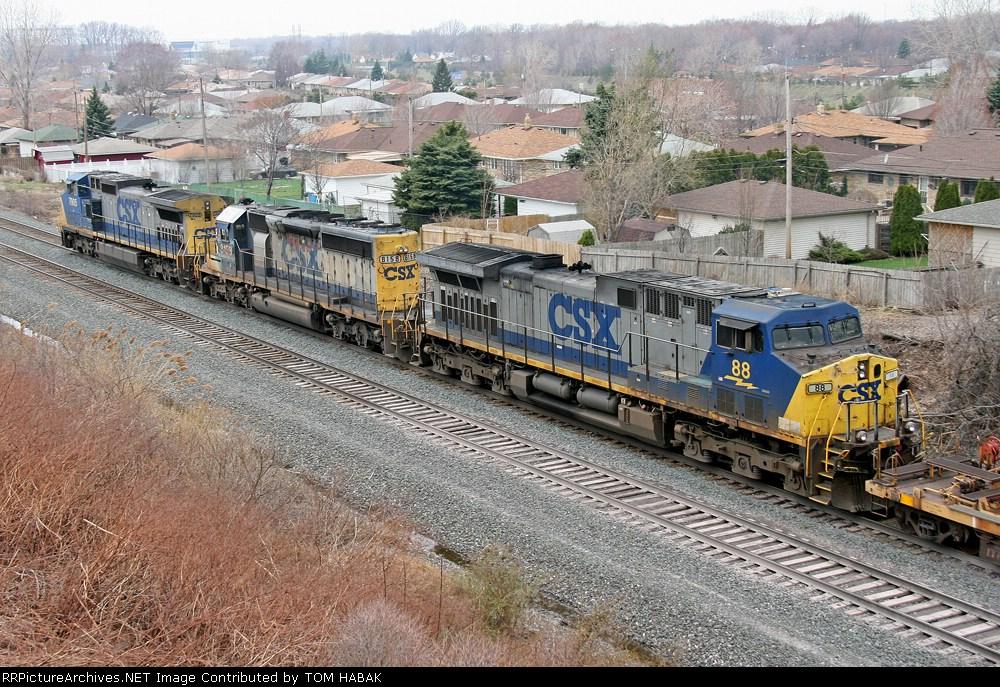 CSX 88 on Q151-08