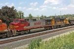 BNSF 702 on CSX Q381-07