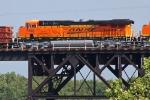 BNSF 7403 on CSX Q381-22