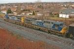 CSX 265 on Q393-07