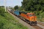 BNSF 7660 on CSX Q380-28