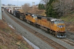 UP 4505 on CSX Q390-11