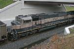 BNSF 9557 on CSX N891-10