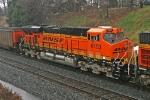 BNSF 6193 on CSX V980-12