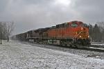 BNSF 5129 on CSX Q380-13